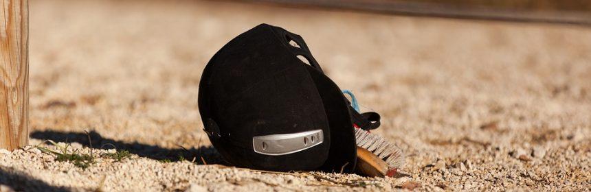 casque de sécurité en équitation
